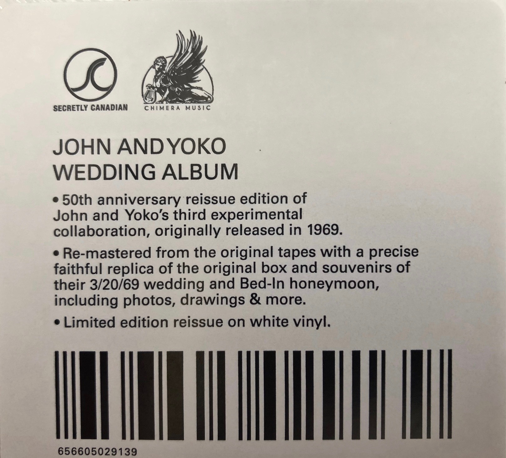 John Lennon Yoko Ono Wedding Album Unboxing Beatles Blog